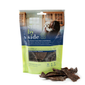 Side by Side Pet - Treats - Beef Heart Jerky