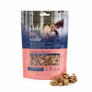 Side by Side Pet - Treats - Chicken Hearts