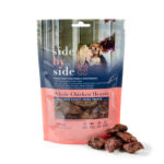Side by Side Pet – Treats – Whole Chicken Hearts