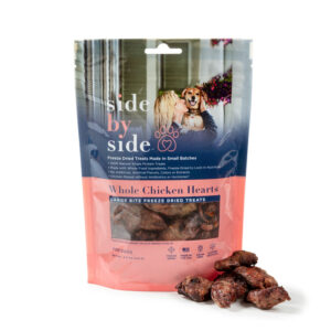 Side by Side Pet - Treats - Whole Chicken Hearts
