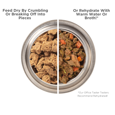 Serve Dry or Rehydrated