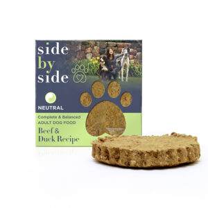 Side by Side Pet - Single Serve Patty - Beef + Duck Recipe